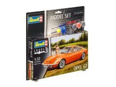 REVELL 67680 Modellbausatz Opel GT mit Basisfarben 1:32, ab 10 Jahre