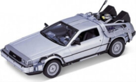 Welly De Lorean Back to the Future Teil 1 1:24