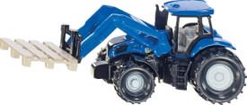 SIKU 1487 SUPER - Traktor mit Palettengabel und Palette, ab 3 Jahre