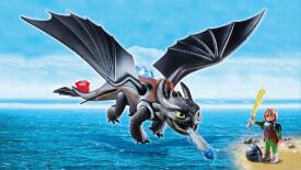 Playmobil 9246 Dragons Hicks und Ohnezahn