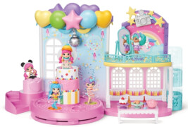 Spin Master Party PopTeenies Poptastic Party Playset