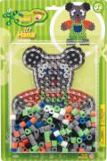 HAMA Bügelperlen Maxiperlen Teddy mit 250 Perlen