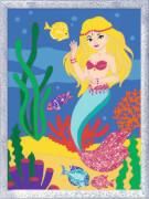Ravensburger 27792 Malen nach Zahlen Serie Romatic Kleine Meerjungfrau