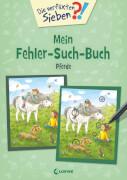 Die verflixten Sieben - Mein Fehler-Such-Buch - Pferde