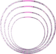Outdoor active Hula Hoop mit LED, #66,72,76,82cm