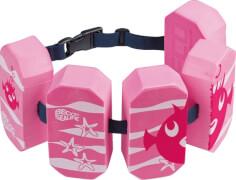 BECO SEALIFE Schwimmgürtel mit 5 Pads, 2 - 6 Jahre, pink